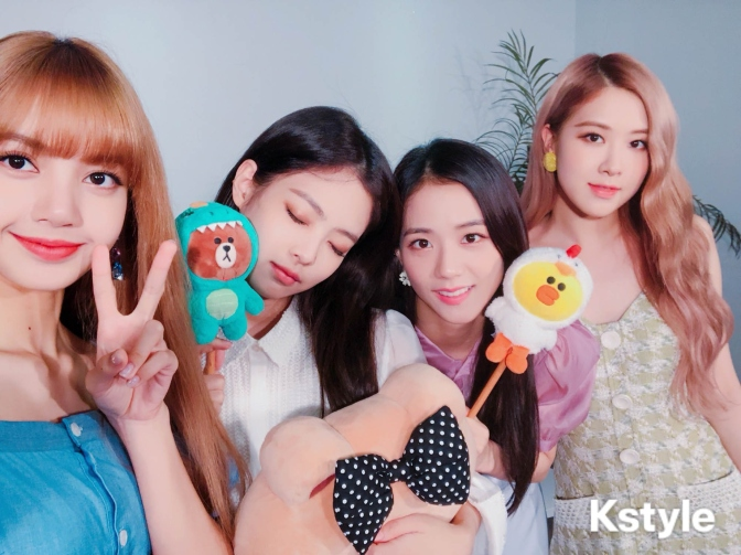 [SHOW] 180828 Line Live with BLACKPINK