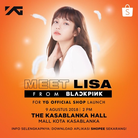 lisa fanmeet indonesia shopee_2
