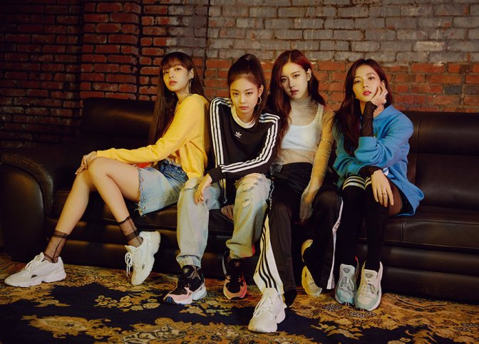[ENDORSEMENT] BLACKPINK for Adidas Originals Korea Falcon
