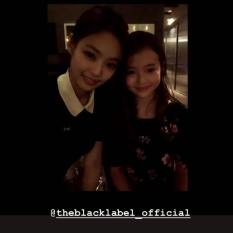 180630 ellagross with jennie theblacklabel