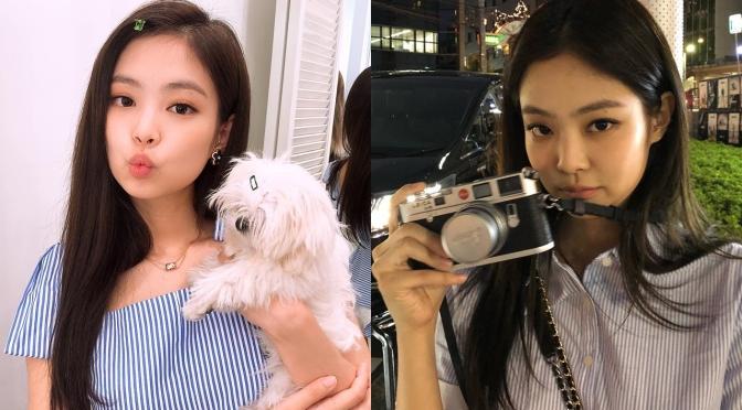 [SNS/TRANS] 180901~08 Jennie's (jennierubyjane) IG Updates & IG Stories: Chanel, New Toy Camera, Maengdol & More