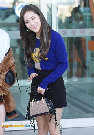 180908 incheon airport jisoo_7