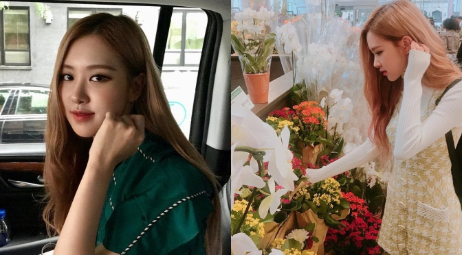 [SNS] 180909~15 Rosé's (roses_are_rosie) IG Updates & IG Stories: CoachSS19 at New York Fashion Week, Supermarket Flowers & More
