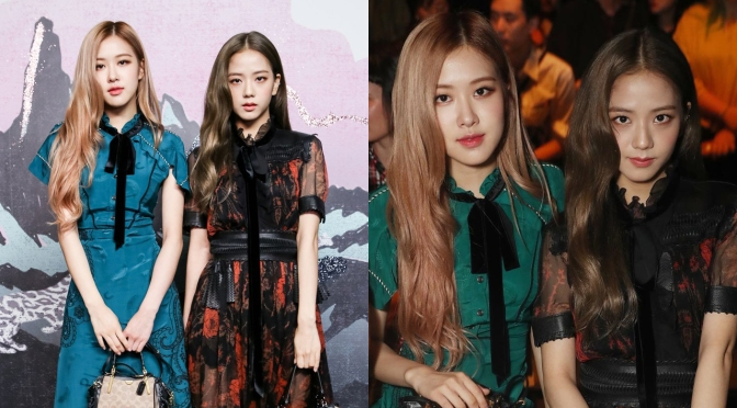 [EVENT] 180911 Jisoo & Rosé at Coach S/S 2019 Runway Show for New York Fashion Week