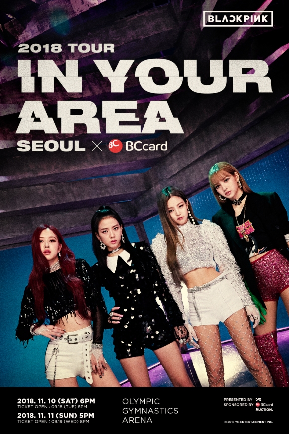 180912 BLACKPINK – 2018 TOUR [IN YOUR AREA] SEOUL X BC CARD