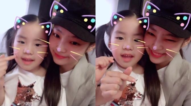 [SNS] 180912 Make Up Artist Jung Saem Mool (jungsaemmool11) Shares Video With Jennie