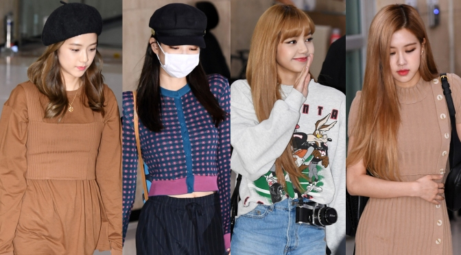 [PRESS] 180919 BLACKPINK at Gimpo Airport (Arrival from Japan)