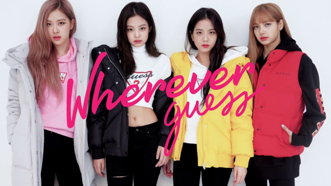 [ENDORSEMENT] BLACKPINK for Guess