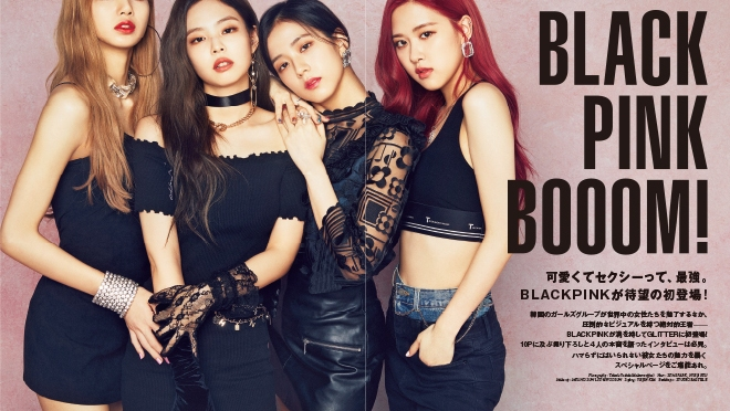 [MAGAZINE] 180907 BLACKPINK for Glitter Magazine October 2018 Issue (INTERVIEW + PHOTOS)