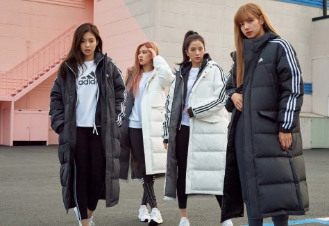 blackpink adidas winter jacket press 1