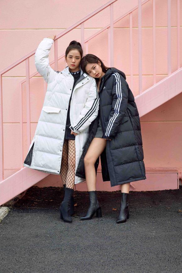 blackpink adidas winter jacket press 3