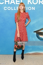 attends the Michael Kors Collection Spring 2019 Runway Show at Pier 17 on September 12, 2018 in New York City.