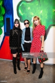 NEW YORK, NY - SEPTEMBER 12: (L-R) Ploy Horwang, Jongkol Palarit and Lisa of BlackPink attend the MICHAEL KORS COLLECTION Spring 2019 Runway Show, Asia Pacific Front Row Faces at Pier 17 on September 12, 2018 in New York City. (Photo by Edi Chen/Getty Images for Michael Kors)