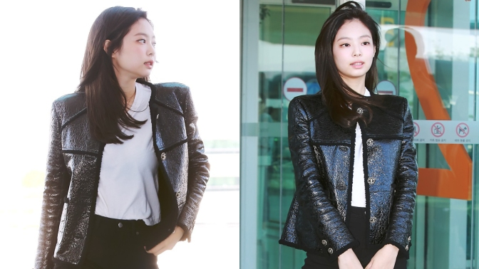 [PRESS/FANTAKEN] 180930 Jennie at Incheon Airport (Departure to Paris, France)