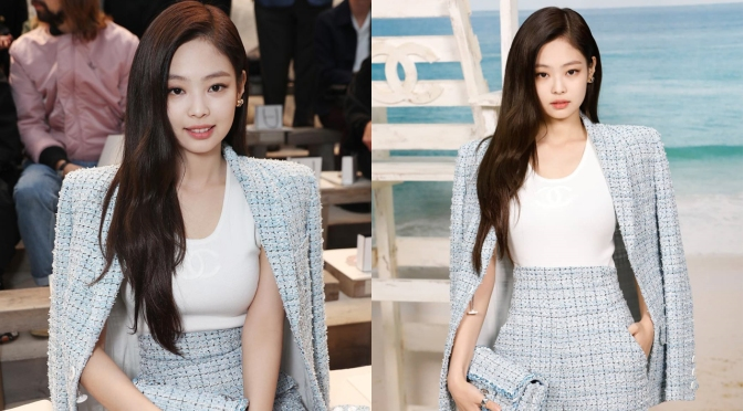 [EVENT] 181002 Jennie at Chanel Ready-To-Wear Spring Summer 2019 Runway Show for Paris Fashion Week