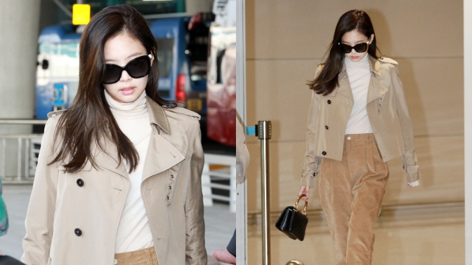 [PRESS/FANTAKEN] 181004 Jennie at Incheon Airport (Arrival From Paris, France)