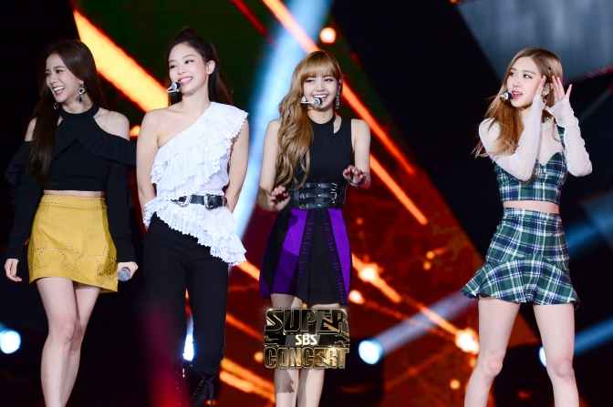 [EVENT] 181014 Official HQ Photos of BLACKPINK at BBQ X SBS Super Concert in Suwon
