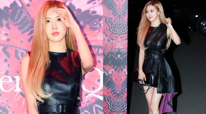 [EVENT] 181016 Rosé at Alexander McQueen 2018 Fall-Winter Collection Exhibition