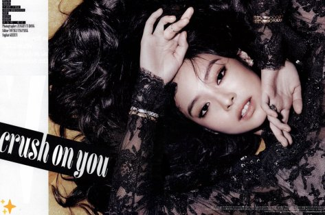 181019 dazzling_bp scan wkorea november crush on you jennie 1