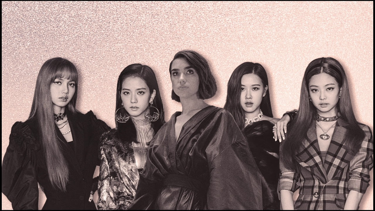 181019 Dua Lipa & BLACKPINK - Kiss and Make Up (Official Audio)