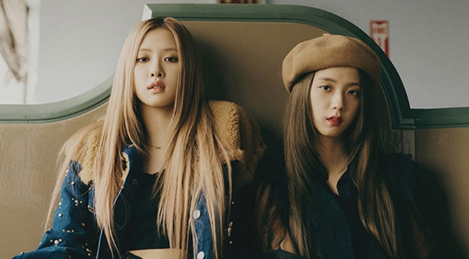 [YG-LIFE] 181024 BLACKPINK's JISOO X ROSÉ Presents Retro and Romantic Vibes in Brooklyn For Vogue Korea
