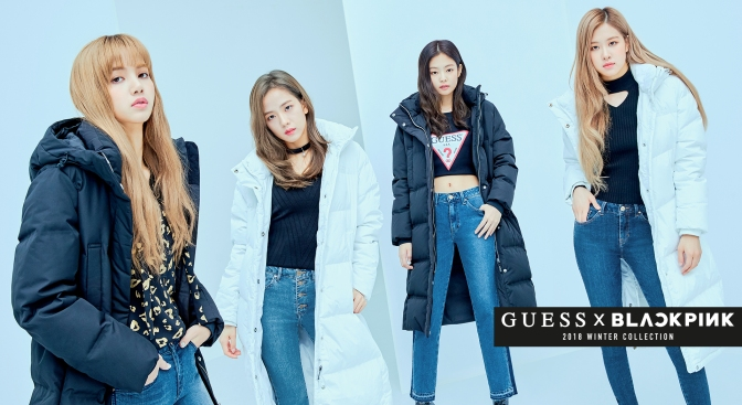[ENDORSEMENT] BLACKPINK for Guess 2018 Winter Collection
