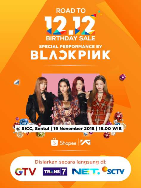 181119 SHOPEE INDONESIA ROAD TO 12.12 BIRTHDAY SALE 1