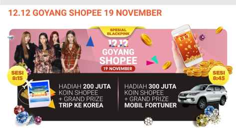 181119 SHOPEE INDONESIA ROAD TO 12.12 BIRTHDAY SALE 2