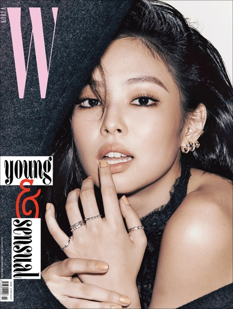 W KOREA NOVEMBER 2018 ISSUE JENNIE CHANEL 1