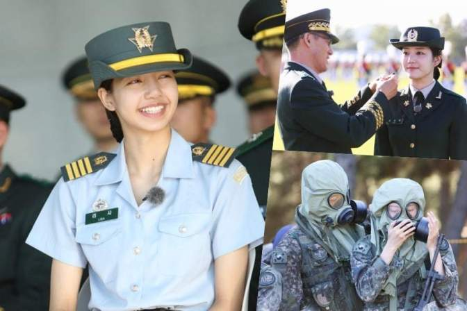 "[NEWS] 181101 BLACKPINK's Lisa And More Finish Training On ""Real Men 300"""