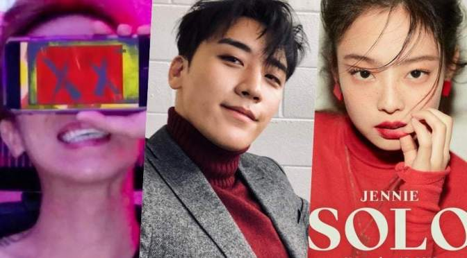 [NEWS] 181103 Seungri Offers To Help Song Mino And Jennie On Their Solos, Says He's Very Sad