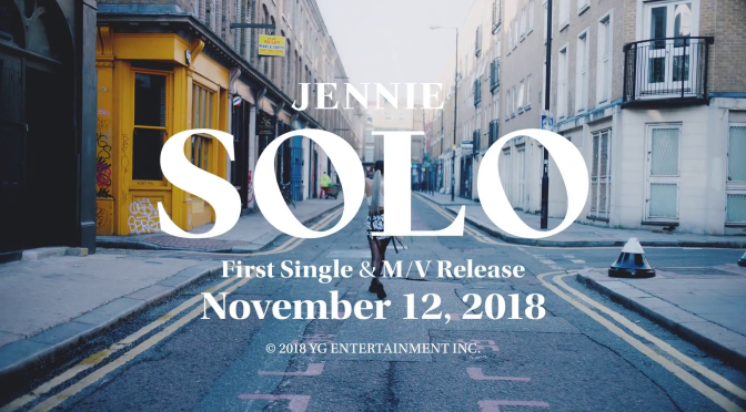 [OFFICIAL] JENNIE – 'SOLO' Teaser Videos