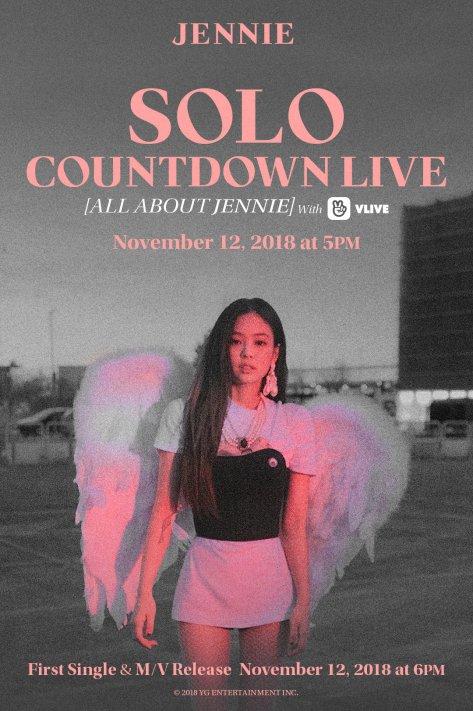 181110 JENNIE - 'SOLO' COUNTDOWN LIVE [ALL ABOUT JENNIE]