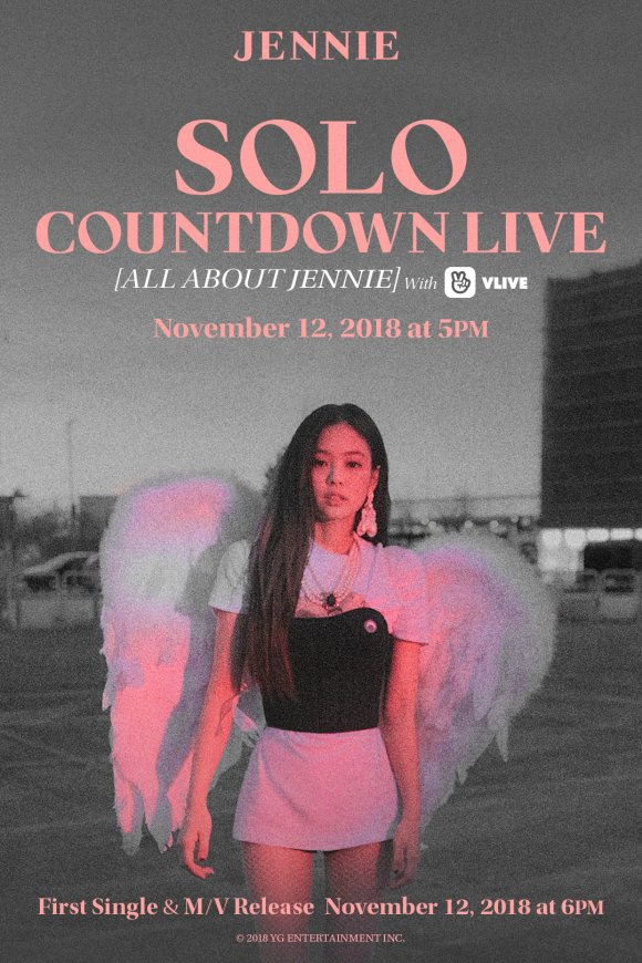 181110 JENNIE - 'SOLO' COUNTDOWN LIVE [ALL ABOUT JENNIE]