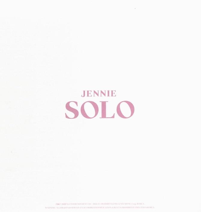 [SCAN] JENNIE [SOLO] PHOTOBOOK