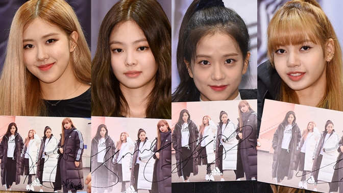 [PRESS] 181116 BLACKPINK at Adidas Fansign Event