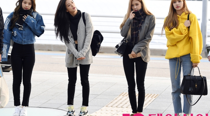 [PRESS] 181118 BLACKPINK at Incheon Airport (Departure to Indonesia)