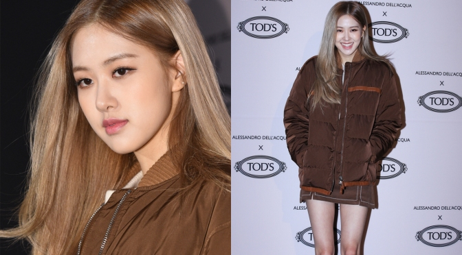 [EVENT] 181127 ROSÉ At Tod's Alessandro Dell'Acqua Capsule Collection Launching Event
