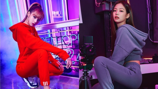 [ENDORSEMENT] Jennie & Lisa For Adidas Originals Korea Falcon