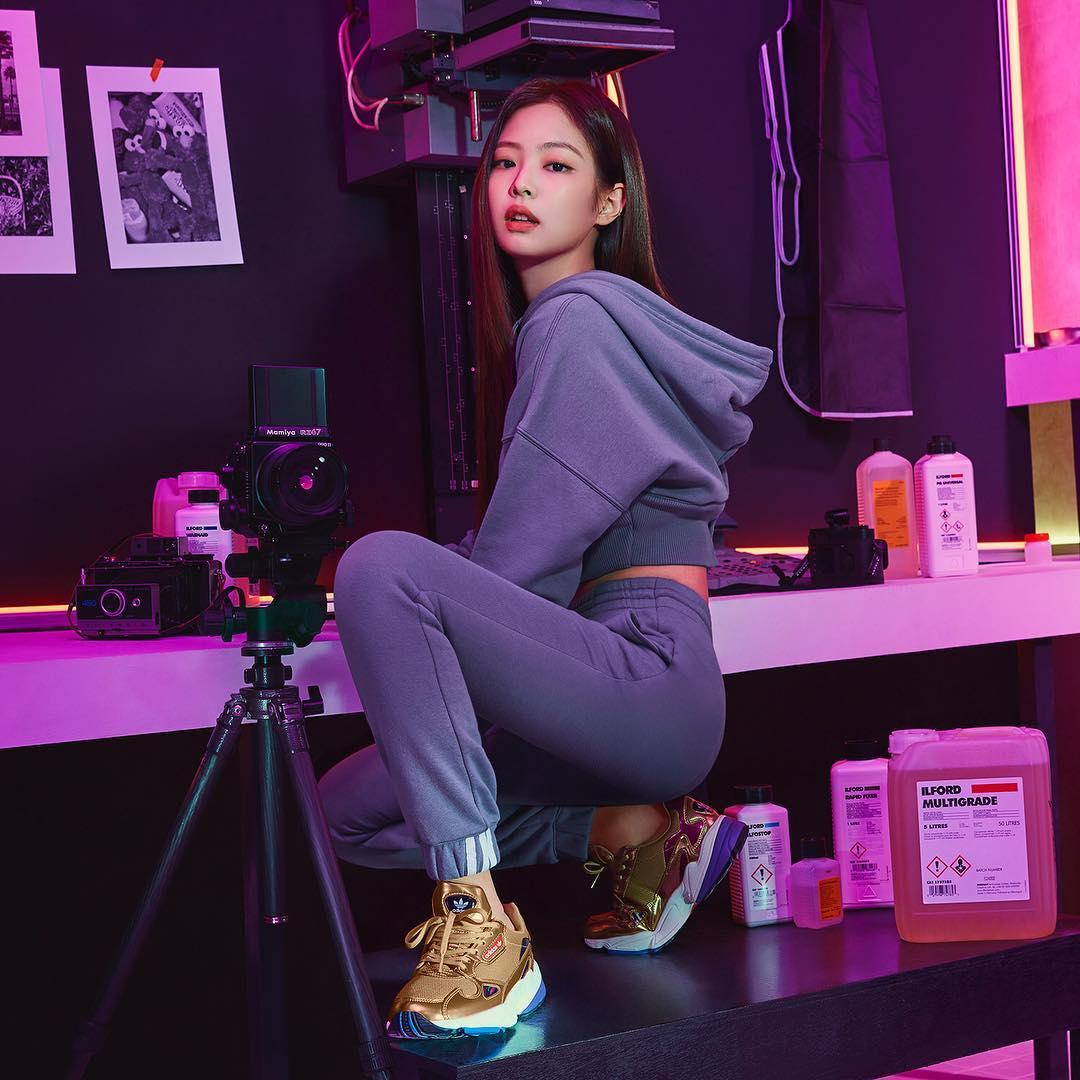 Lisa For Adidas Originals Korea Falcon