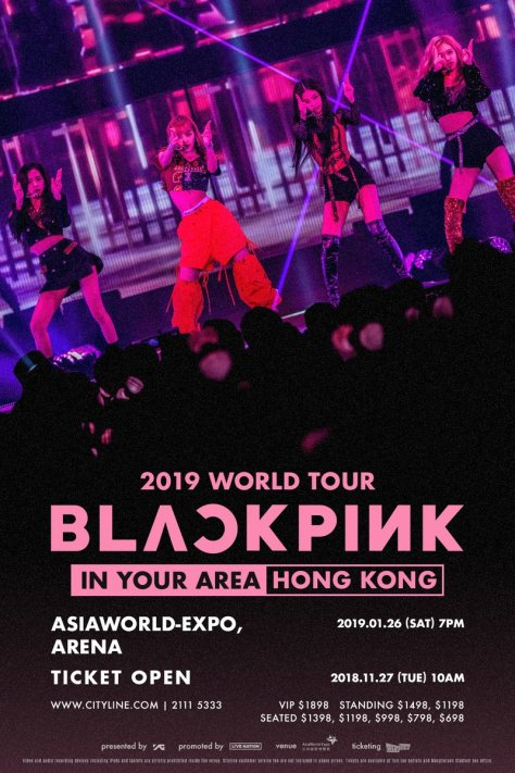 190126 BLACKPINK 2019 TOUR [IN YOUR AREA] HONG KONG TICKETING