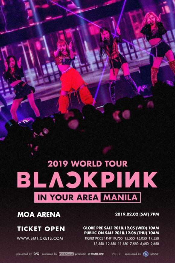 190202 BLACKPINK 2019 TOUR [IN YOUR AREA] in MANILA TICKETING