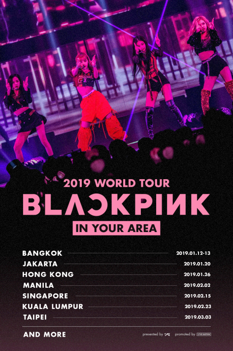BLACKPINK 2019 WORLD TOUR [IN YOUR AREA]