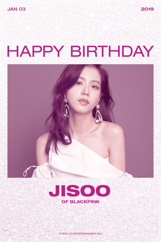 "[YG-LIFE] 180103 ""Happy Birthday, JISOO"", 'Goddess-like Beauty' and Collarbone Line"