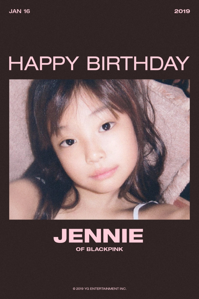 [OFFICIAL] 190116 HAPPY BIRTHDAY JENNIE